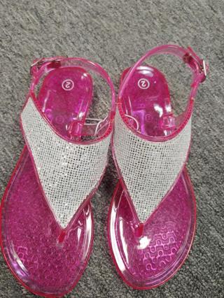 NWOT!! Bobbie Books Girls Sandals -Size 2