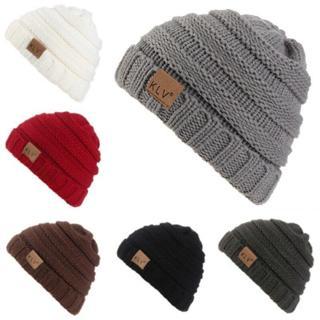 Toddler Kids Girl Boy Baby Winter Warm Crochet Knit Hat Children Ski Beanie Cap