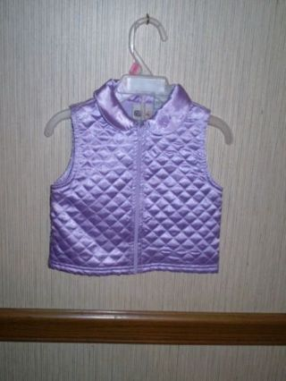 2 BABY GIRLS JACKET & VEST 6-9MTHS MINNIE MOUSE