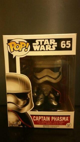 FUNKO Pop! Star Wars Captain Phasma Vinyl Bobble-Head