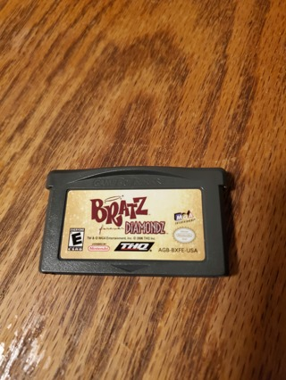Bratz Forever Diamondz Game Boy Advance
