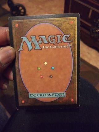 Magic The Gathering Card(1)