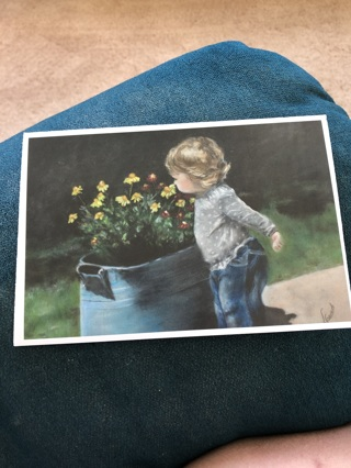Brand new beautiful note card