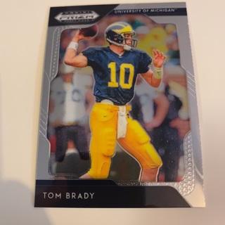 2019 Panini Prizm Draft Picks Tom Brady Card