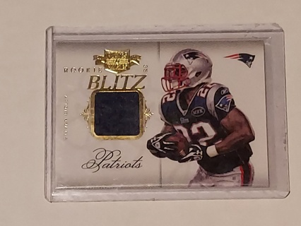 Stevan Ridley Plates & Patches Jersey#299/ Patriots