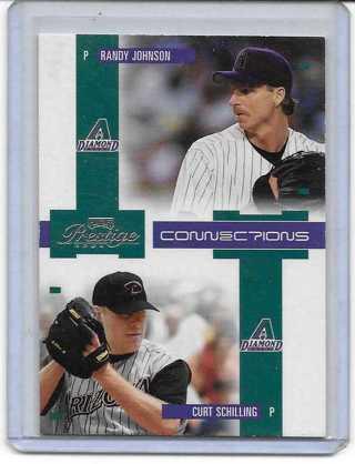 Randy Johnson/Curt Schilling 2004 Prestige Connections #C4