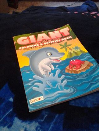 Free: GIANT COLORING/ ACTIVITY BOOK BY BENDON ....NEW ***Free ...
