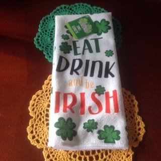 Happy Saint Patrick's Day.