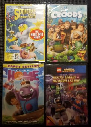4 New Family DVDs