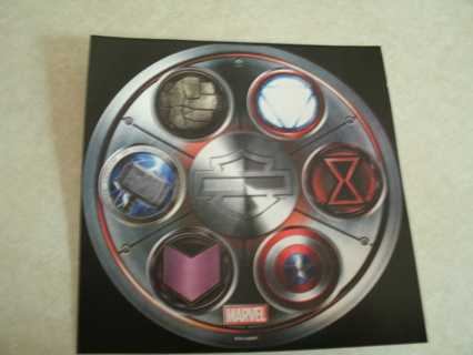 Harley Davidson Marvel Avengers sticker