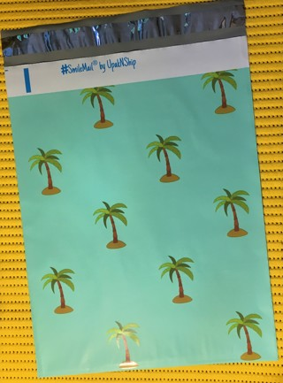 """10 PALM TREES 6"""" x 9"""" Poly Mailers"""