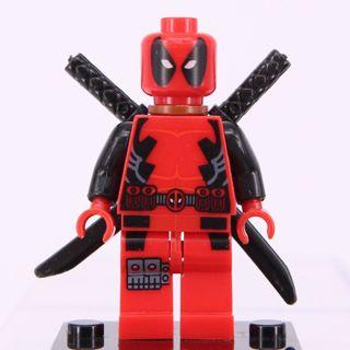 New Deadpool Super Hero Minifigure Building Toys Custom Lego