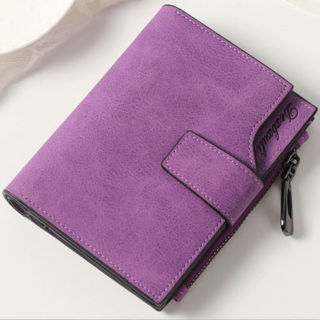 Women Girls Credit Card Holder Coin Purse Wallet Pockets Short Wallet