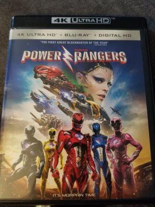 Power rangers 4k