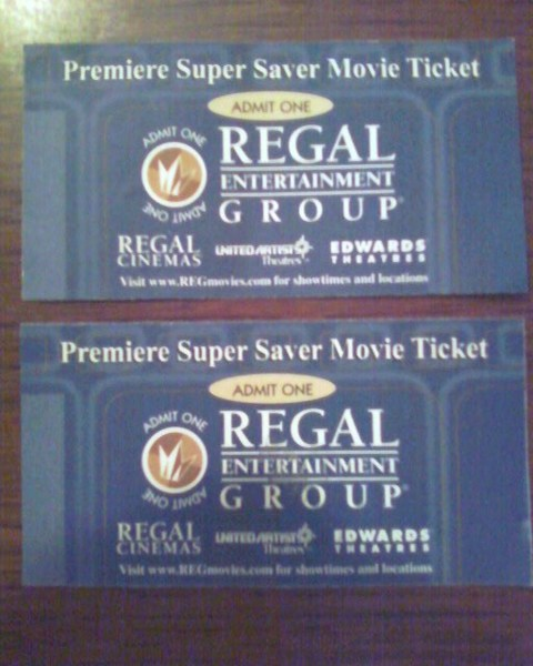 Get your tickets now at LTS MOVIES TICKETS REGAL starke.ga Premiere Super Saver: $ Ultimate Premiere Movie Pack: $ (Valid for all movies and show times). This movie pack is a complete gift for two to enjoy a night at the movies. Each Ultimate Pack includes two unrestricted Premiere movie tickets and a $