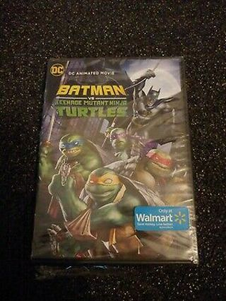 NEW Batman V Teenage Mutant Ninja Turtles DVD