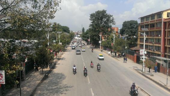Streets of Kathmandu Photos