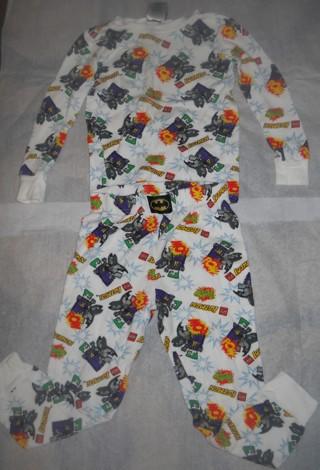boys Lego Batman Thermal pajama set