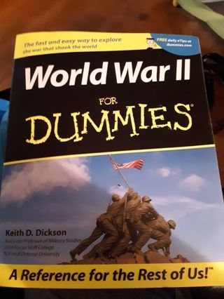 World War 2 For Dummies -a Reference