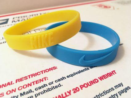 NIKE wristbands bracelets sports athletic trendy