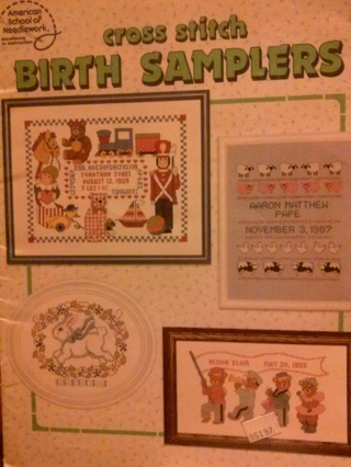 Vintage Cross Stitch Pattern Books/Leaflets/Pamphlet (B-911) Group of 8