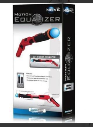 NEW Playstation 3 Gun Ps3 Blaster Weapon Shooter Shooting Control Attachment FREE SHIPPING