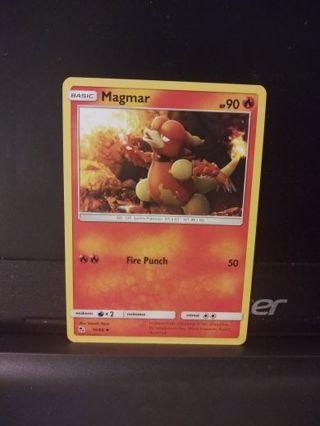 MAGMAR POKEMON CARD #10