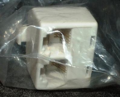 NIP Ivory 2wire Telephone Splitter