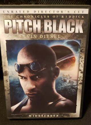 "DVD - ""The Chronicles of Riddick - Pitch Black"" starring: Vin Diesel"