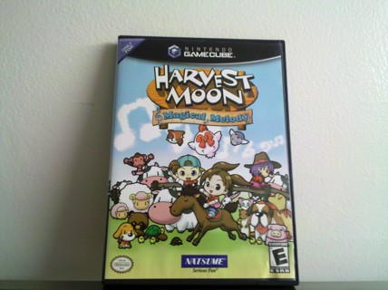 Harvest Moon Magical Melody – Gamecube- Near Mint!
