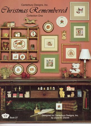 Cross Stitch Book: Christmas Remembered #1