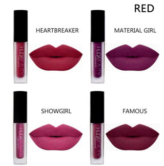 4Pcs/Set Waterproof Long Lasting Lipstick Girl Lip Liquid Matte Makeup Lip Gloss