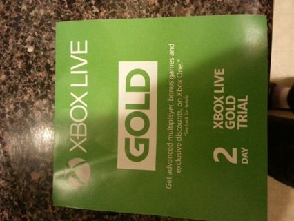 2 day Xbox Live GOLD Trial!