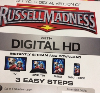 Russell Madness UV digital copy