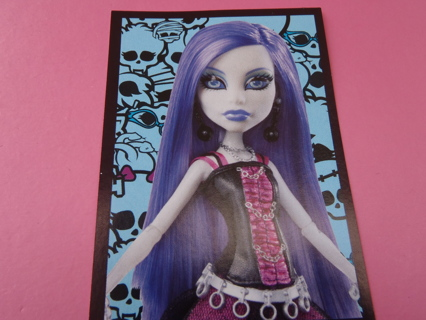 Monster High PANINI Sticker #164 for 2012 fearbook