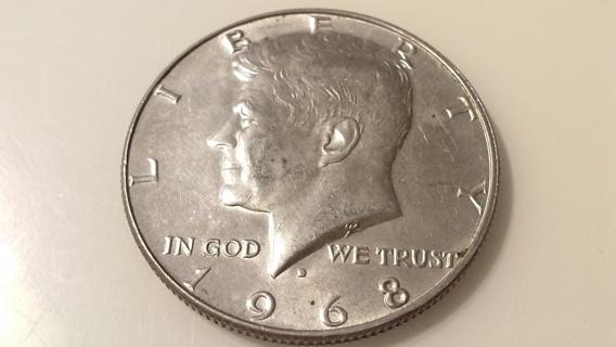 1968 Silver Kennedy Half