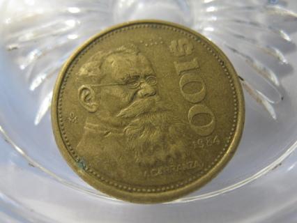 (FC-148) 1984 Mexico: 100 Pesos