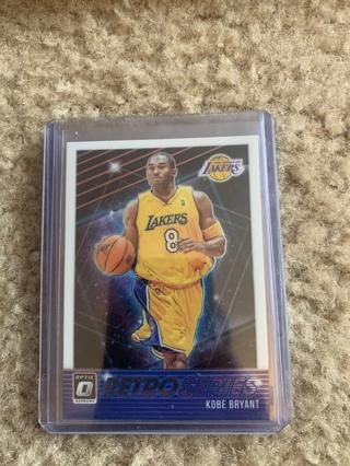 Kobe Bryant 2018-19 Optic Retro Series Insert #23 Lakers