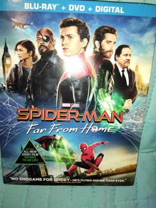 Spider-Man far from home digital only