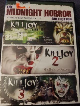 Killjoy 1,2,3 dvd