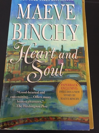 Heart and soul-maeve binchy paperback