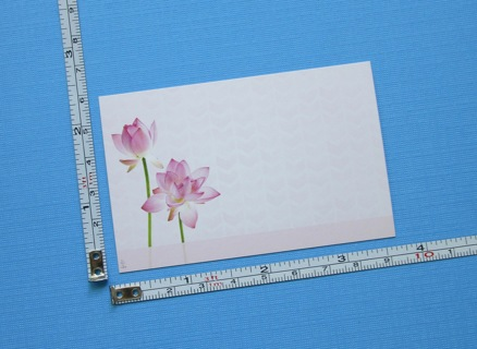 """12 x BEAUTIFUL """"FLOWER"""" BUSINESS CARDS / GIFT ENCLOSURE CARDS !!! ~ FREE SHIPPING FROM CANADA !!!"""