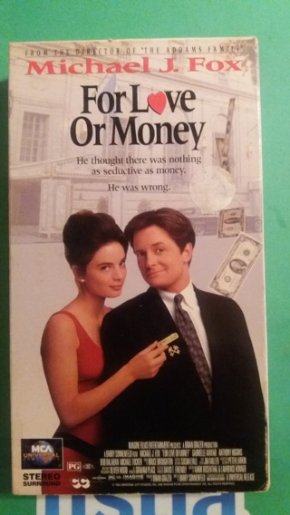 vhs for the love of money  free shipping