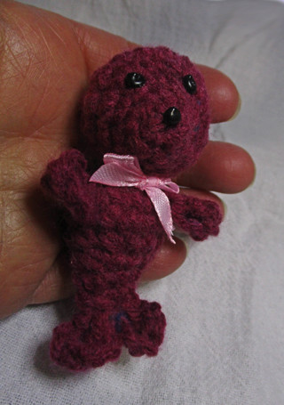 Baby Seal, New, Small Crocheted Plushie