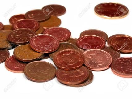 One (1) Random Canadian Coin.....My choice