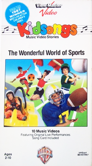 Kidsongs: The Wonderful World of Sports [VHS]