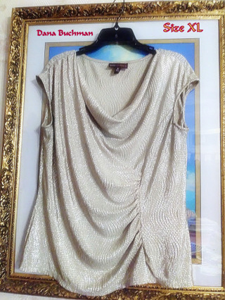 """Bling"" in the New Year With This Gorgeous Ladies XL Dana Buchman Blouse"