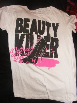 Free Jeffree Star Beauty Killer Shirt From Hot Topic Other