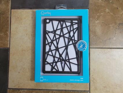 Quirky Ipad Mini Tablet Hardcover & Elastic Storage Case NIB