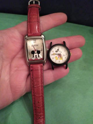 **VINTAGE MICKEY MOUSE WATCHES**